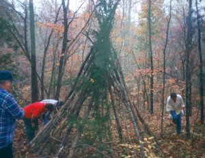 build-wickiup